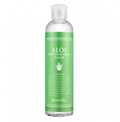 тоник для лица с экстрактом алоэ увлажняющий secret key aloe soothing moist toner