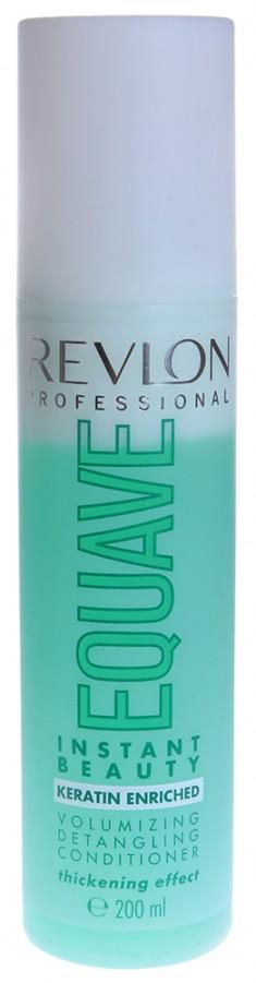 REVLON PROFESSIONAL Кондиционер несмываемый 2-х фазный для тонких волос / EQUAVE INSTANT BEAUTY VOLUMIZING 200 мл