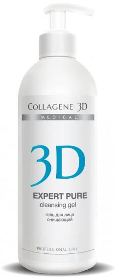 MEDICAL COLLAGENE 3D Гель очищающий для лица / EXPERT PURE 500 мл