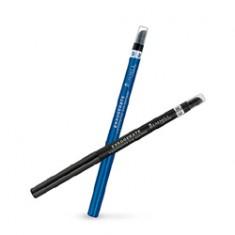 RIMMEL Водостойкий автоматический контурный карандаш для глаз Exaggerate № 262 Blackest Black