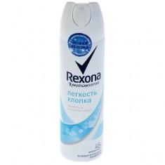 Rexona Антиперспирант аэрозоль женский Легкость хлопка 150мл