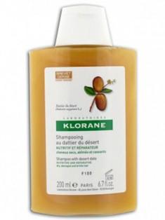 Клоран (Klorane) Питательный шампунь с маслом Финика пустынного для ломких, поврежденных волос 200 мл