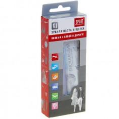 Сплат/Splat Professional дорожный набор Биокальций (зубная паста Биокальций 40мл+складная зубная щетка)