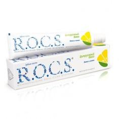 Рокс/Rocs Зубная паста Цитрусовый джаз Мята и лимон 74г