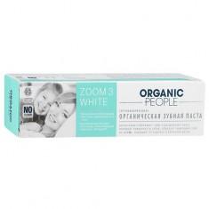 Organic people Зубная паста Zoom 3 White 100 мл