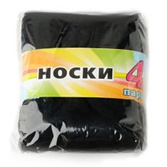 Носки женские ЭВЕЛИНА 20 den р-р единый 4 пары черные