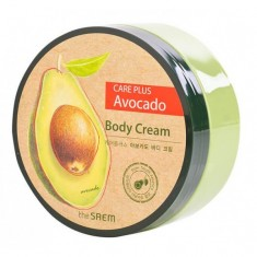 крем для тела с экстрактом авокадо the saem care plus avocado body cream