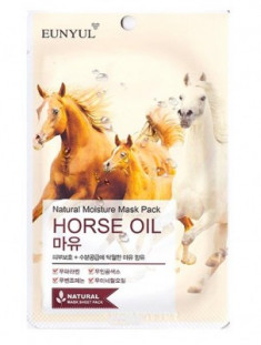 Тканевая маска с лошадиным маслом EUNYUL Natural moisture mask pack horse oil 23мл