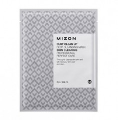 Тканевая маска очищающая MIZON Dust Clean Up Deep Cleansing Mask