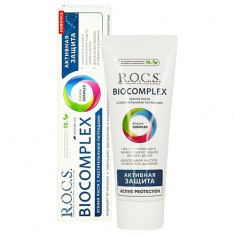 Паста зубная R.O.C.S. BIOCOMPLEX Активная защита 94 г