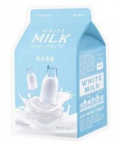 Тканевая маска молочная увлажняющая A'PIEU White Milk One-Pack 21г