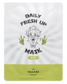 Маска с экстрактом алоэ VILLAGE 11 FACTORY Daily Fresh up Mask Aloe