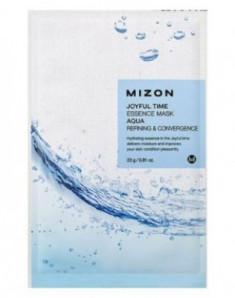 Тканевая маска с морской водой MIZON Joyful Time Essence Mask Aqua