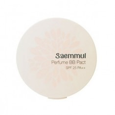 Пудра компактная ароматизированная THE SAEM Sammul Perfume BB Pact SPF25 PA++ 21. Pink Beige 20гр