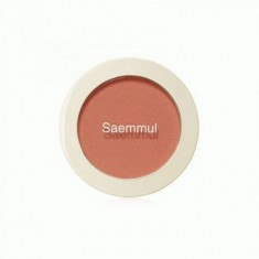 Румяна THE SAEM Saemmul Single Blusher OR01 Mandarine Kiss 5гр
