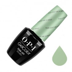 Opi гель-лак this cost me a mint 15 мл