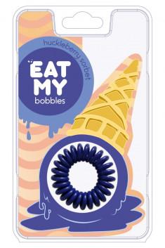 EAT MY BOBBLES Резинка для волос в цвете Черничный сорбет