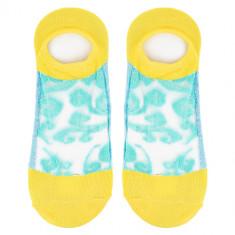 Носки женские SOCKS LACE Yellow, р-р единый
