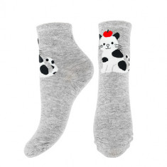 Носки женские SOCKS CUTE Grey cat, р-р единый