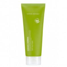 пенка для умывания nature republic green derma mild foam cleanser