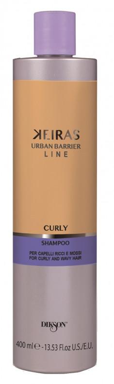 DIKSON Шампунь для кудрявых волос / KEIRAS SHAMPOO FOR CURLY AND WAVY HAIR 400 мл