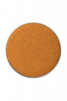 Тени пастель компактные сухие Make-Up Atelier Paris PL25 золотые запаска 3,5г
