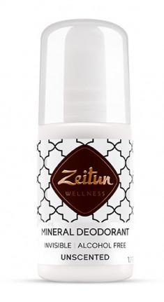 ZEITUN Дезодорант минеральный шариковый нейтральный, без запаха 50 мл