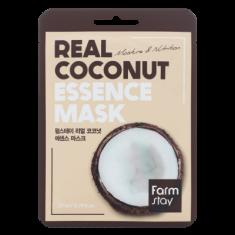 Тканевая маска для лица с экстрактом кокоса FARMSTAY REAL COCONUT ESSENCE MASK 23 мл