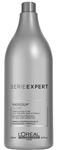 LOREAL PROFESSIONNEL Шампунь для седых волос / СИЛЬВЕР 1500 мл
