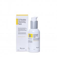 SKINDOM Пенка очищающая с кислородом для лица / O2 BUBLLE CLEANSING PACK 120 мл