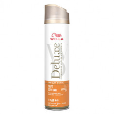 Лак для волос WELLA DELUXE SOFT STYLING Сильная фиксация 250 мл