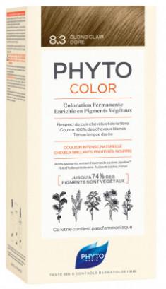 Краска для волос Phytosolba PhytoCOLOR №8.3 Светлый золотистый блонд