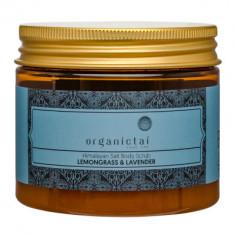 Скраб для тела на основе гималайской соли с маслами лемонграсса и лаванды ORGANIC TAI Himalayan Salt Body Scrub Lemongrass & Lavender 200 мл