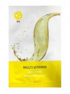 Маска тканевая с витаминами BIO SOLUTION Radiance Multi Vitamin Mask Sheet 20г The Saem