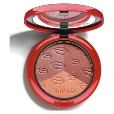 Румяна для лица ARTDECO BLUSH COUTURE трехцветные тон cheek kisses