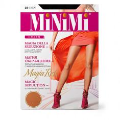 Колготки женские MINIMI MAGIA RETE с эффектом мелкой сеточки тон Nero р-р 4