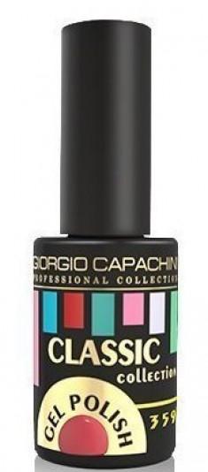 GIORGIO CAPACHINI 359 гель-лак трехфазный для ногтей / Classic 7 мл