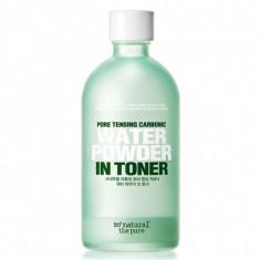 тонер для кожи с расширенными порами so natural pore tensing carbonic water power in toner