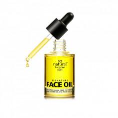 натуральное масло для лица so natural signature face oil