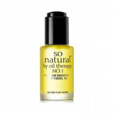 увлажняющее и питательное масло для лица so natural concentrate premium essential deep facial oil